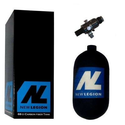 1,1 Liter New Legion Dwarf Composite HP System inkl. Dwarf Regulator