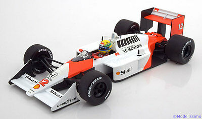 1:18 Minichamps McLaren Honda MP4/4 World Champion Senna 1988