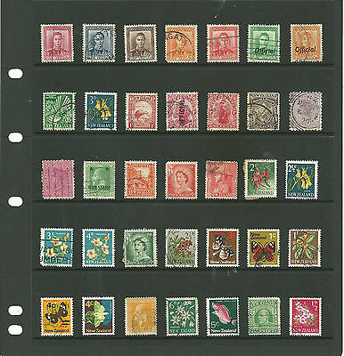New Zealand 10 stock sheets mix collection stamps