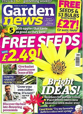 Garden News Magazine October 15  2016 + Seeds