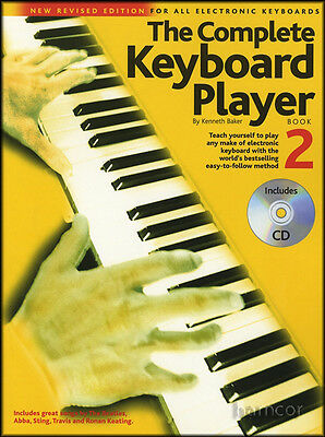 The Complete Keyboard Player 2 Book/CD Kenneth Baker Learn How to Play Method