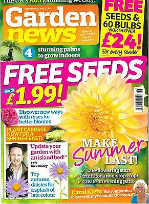 Garden News Magazine September 10  2016 + Seeds
