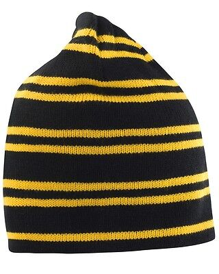 Team Reversible Beanie In London Wasps Colours - One Size