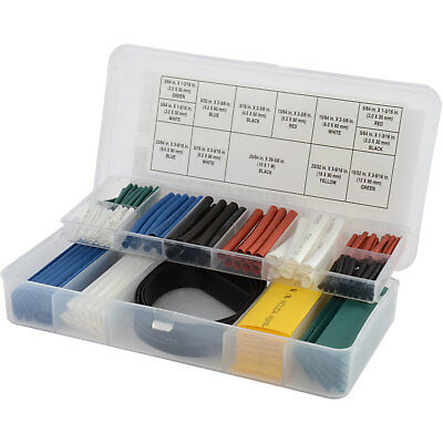 JEGS Performance Products W540 Heat Shrink Assortment 2:1 Shrink Ratio Multicolo