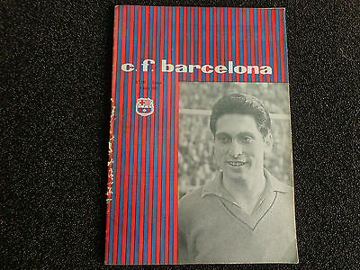 BARCELONA v BIRMINGHAM CITY INTER CITIES  FAIRS CUP  FINAL 1960