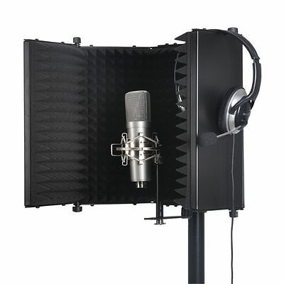 Sound LAB Studio Microphone Reflexion Screen (black)