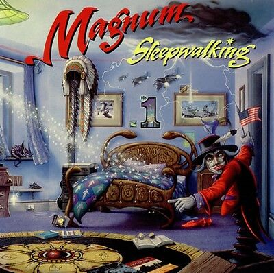 MAGNUM Sleepwalking 1992 UK vinyl LP EXCELLENT CONDITION MFN143.