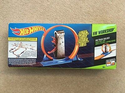 Hot Wheels Track Builder Quick Kick Loop - Brand New