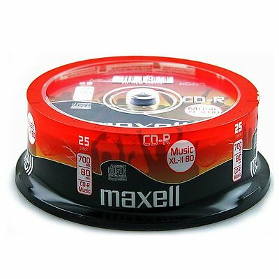 Maxell CDR80 XLII Audio Blank Discs (spindle of 25)
