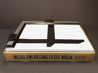 """JESSOP 10x8"""" (20x25cm) Enlarging Easel - Top Quality Accessory - Clean and Boxed"""