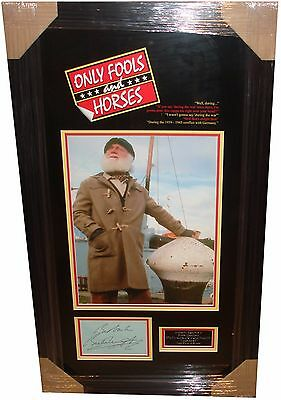 Buster Merryfield SIGNED AUTOGRAPH Only Fools and Horses AFTAL UACC RD