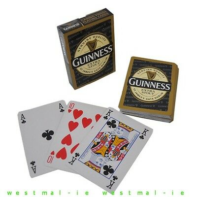 GUINNESS Extra Stout PLAYING CARDS Bridge Poker