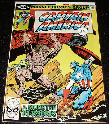 Captain America 244 (5.5) $3.99 One Time Shipping