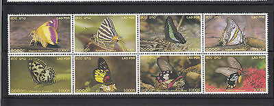 Laos 2003 Butterflies Sc 1565   complete  mint never hinged
