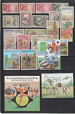 Laos 1959-1986 All  mint never hinged collectiom