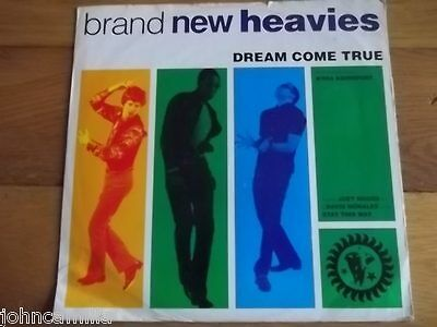 "Brand New Heavies - Dream Come True 12"" Record / Vinyl - Ffrr - Fx 180"