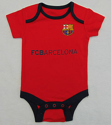 FC Barcelona Baby Vest Age 3-6 Months