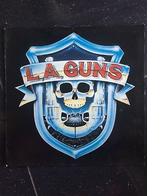 L.a. Guns - L.a. Guns 1988 U.k. Vertigo Label 11 Track Debut Vinyl Lp