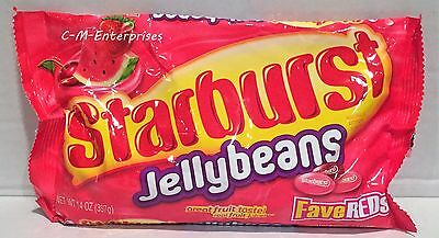 Starburst FaveReds Jelly Beans 14 oz Easter Candy
