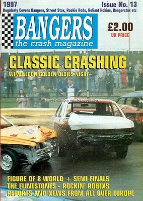 Bangers The Crash banger racing mag issue 13 from 1997