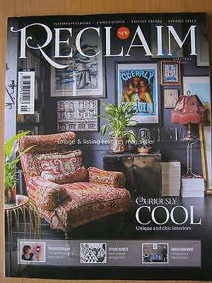 Reclaim magazine August 2016 Issue Five 5 Cool Interiors Salvage Vintage Style