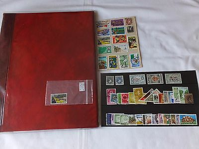 NIGERIA STAMP COLLECTION - OVER 200 USED STAMPS IN PADDED ALBUM - KINGS - 1990's