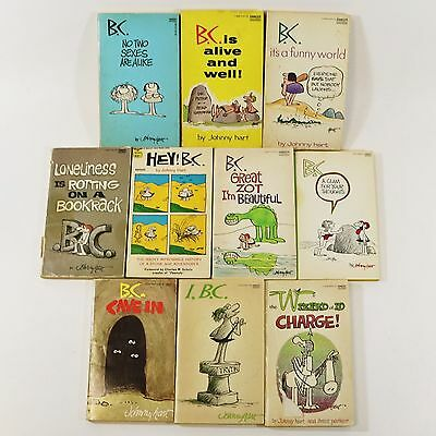 Lot of 30 Vintage B.C. & Wizard of Id Comic Paperback Books by Johnny Hart