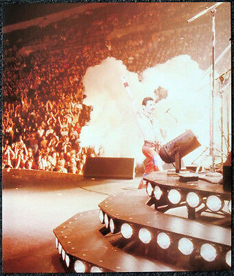 Queen Poster Page 1981 South America Concert Freddie Mercury F5