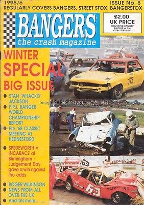 Bangers the Crash banger racing mag issue 8 from 1995/6