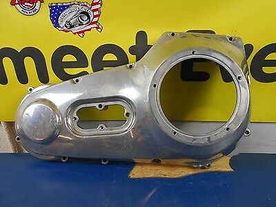 Polished Outer Primary Cover Harley Davidson Fxd Dyna & Fxst Softail  60506-99