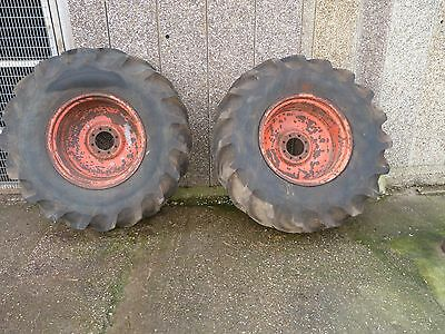 Tractor Wheels and Tyres x 2