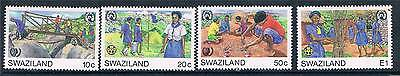 Swaziland 1985 Youth Year SG 495/8 MNH