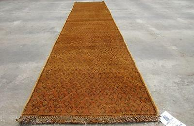 2'0X8'11 hand knotted tribal Persian Rug Vintage Woolen  Oriental Carpet  64