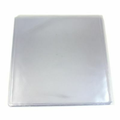 """Sounds Wholesale 12"""" PVC Picture Disc Sleeves With Orange Peel Finish (pack o..."""