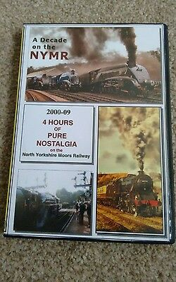 A Decade On The North Yorkshire Moors Railway Dvds : 4 Hours Of Nostalgia Steam