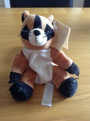 Racoon Beanie Toy Soft Cuddly