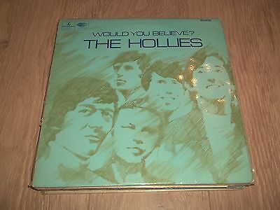 """The Hollies """" Would You Believe """" Mono Vinyl Lp Parlophone Pmc 7008 Vg+/ex 1966"""