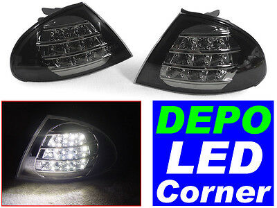 NEW Replacement Clear Front Turn Signal Corner Light Lamp For 91-96 Saturn Coupe