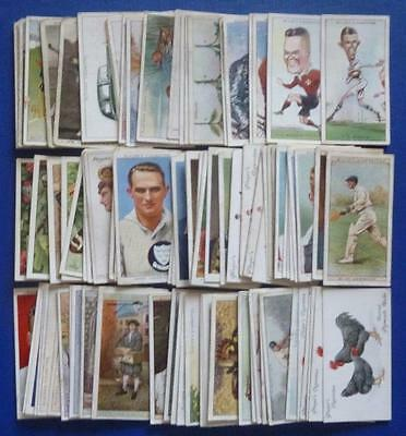x 100. MIXED older cigarette cards. (Lot B)