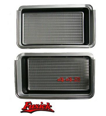 """1972 Olds Cutlass 442 New Grille Set with """"442"""" Emblem Oldsmobile 72 Grill"""