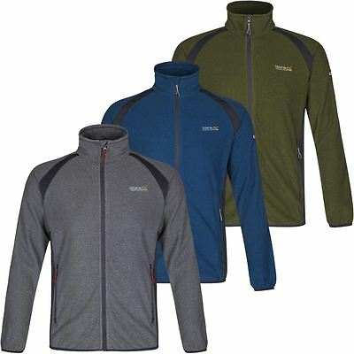 68%OFF Regatta Mons Midlayer Mens Lightweight Microfleece Jacket Outdoor Fleece