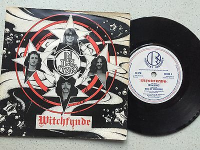 Witchfynde...in The Stars.. Uk Issue P/sleeve Rondelet Round 4