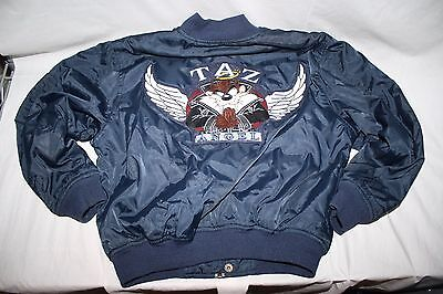 "Tazmanian Devil Taz satin jacket child M Medium ""Taz Angel"""