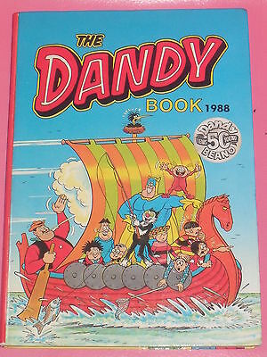 The Dandy Book Annual 1988 (Unclipped)