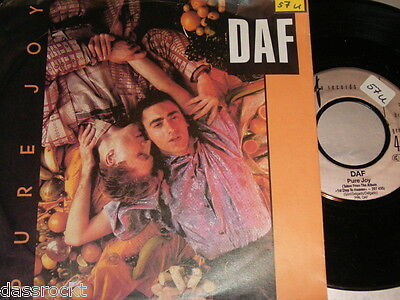 "7"" - DAF / Pure Joy & Party - 1986 # 1906"