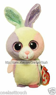 TY Basket Beanies Collection BLOOM Happy Spring EASTER Collectible BUNNY RABBIT