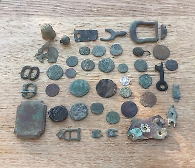 Selection Of Metal Detecting Finds