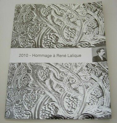 SUPER RARE 2010 Hommage a Rene Lalique 150 Years Anniversary Catalog 52 Pages