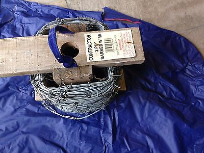 Barbed wire part roll