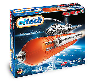 Eitech, Construction, Space Shuttle Deluxe, Metallbaukasten, Neu, Ovp, c00012